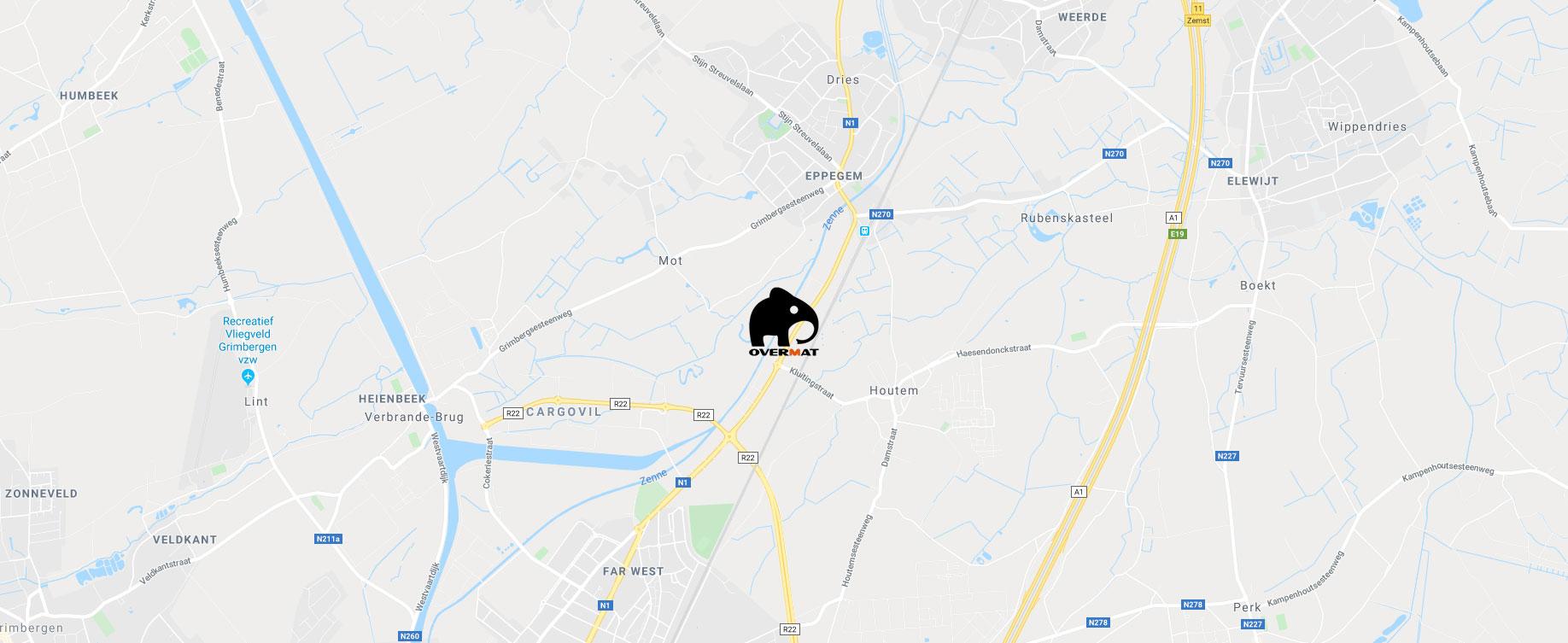Overmat Belgium - Chapemachines, mobiel mortelmengen